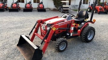 2012 Mahindra Max 22 HST Tractor with Loader – ONLY 75 HOURS!