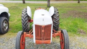 Vintage Ford 9N Tractor