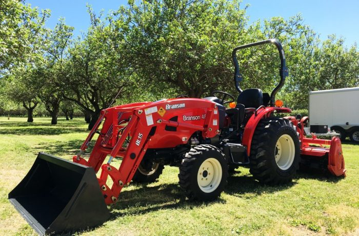 """NEW 48 HP Branson 4815H with Demo 74"""" Rototiller!"""