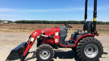 Used 2015 Mahindra eMax 25 HST Tractor – 25 HP, only 150 Hours!