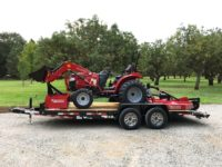 Mahindra 1626 Package, Includes Mower, Box Scraper, AND 18' Trailer!