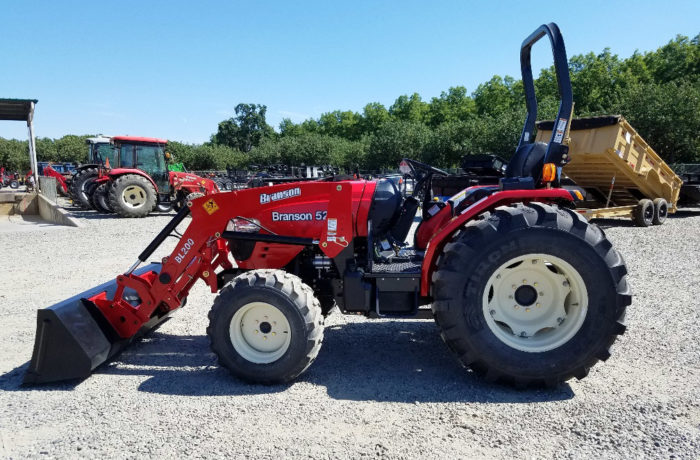 Special Sale!  $1,500 off 55HP Branson Tractor, Limited Supply!