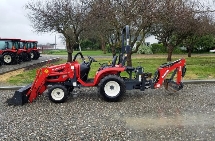 Used Branson 2400 with Loader and Backhoe – Only 230 Hours!