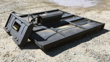 """80"""" TM Industrial Hydraulic Rotary Mower – Mow with your Skid Steer!"""