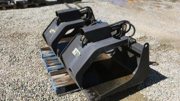 """72"""" TM Industrial Skid Steer Grapple Bucket"""