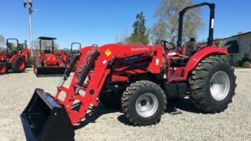 """Scratch & Dent"" Special! 55HP 4×4 Mahindra 2655 Tractor & Loader – HUGE DISCOUNTS!"