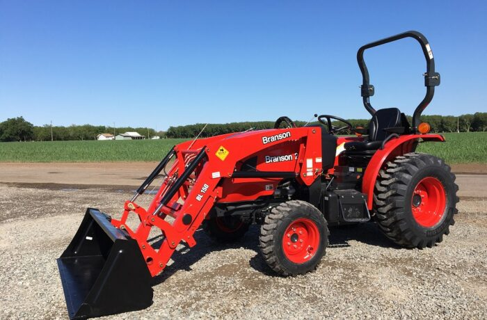 NEW 4×4 Branson 2515H Tractor – 2,200 LB Loader Lift Capacity! SPECIAL INTRODUCTORY PRICING!