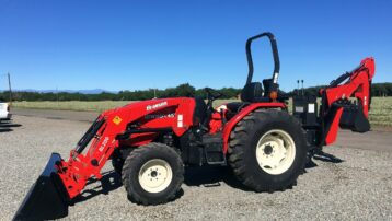47 HP Branson 4520R with Loader & Backhoe – CLEARANCE SALE!
