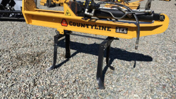 3-pt County Line Hydraulic Log Splitter – Great Condition!