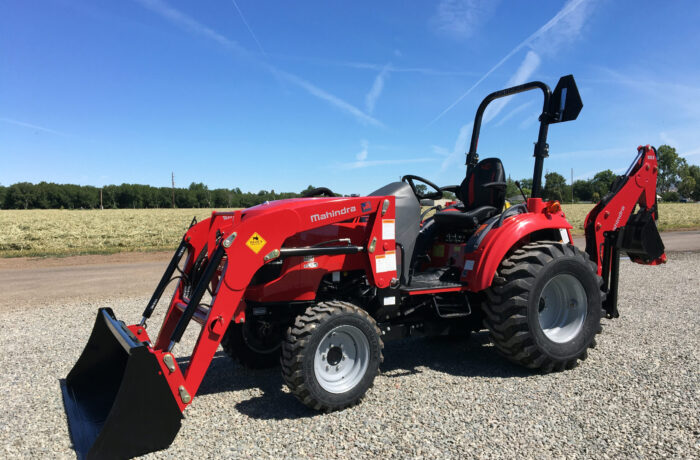 Additional $1750 This Mahindra 1635 Tractor, Loader, and Backhoe!