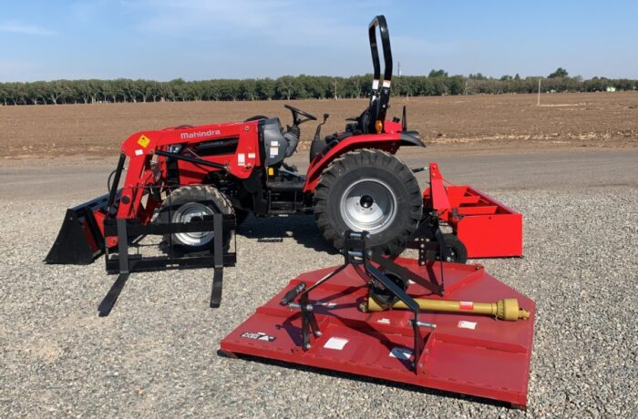 Mahindra 2638HST Tractor & Implement Package $27,950