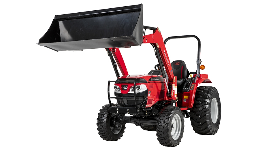 Four Post Lift >> Mahindra 1626 HST