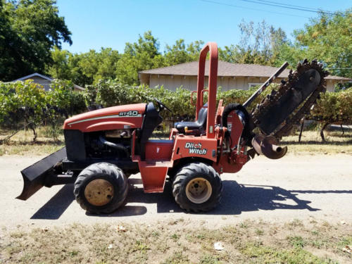 Ditch Witch Trencher - 5