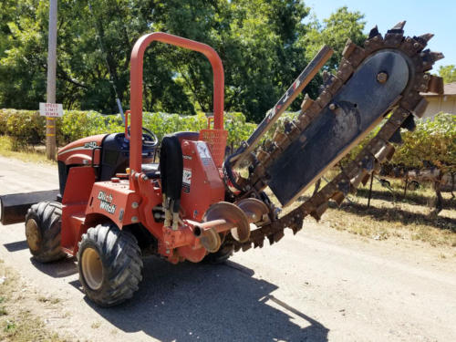 Ditch Witch Trencher - 8