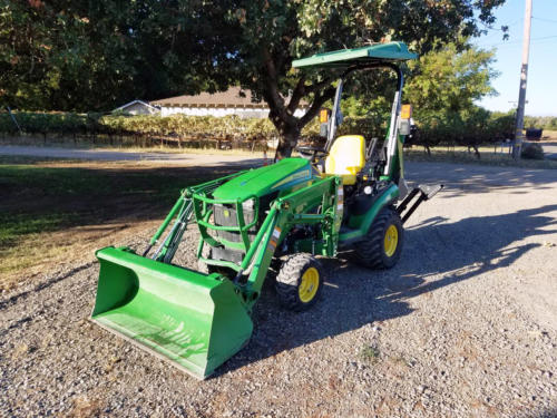 Used JD 1025R TLB - 2