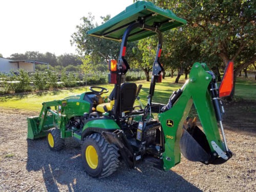 Used JD 1025R TLB - 6