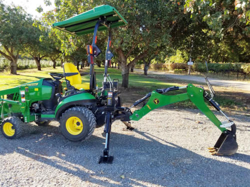 Used JD 1025R TLB - 8
