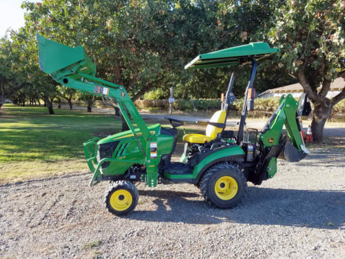 Used JD 1025R TLB - 9