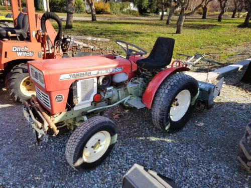 Used Yanmar 1300D with Tiller - 1